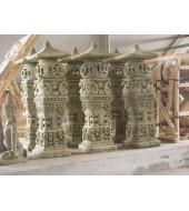 Carved Sandstone Pillar