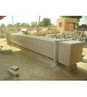 Antique Design Sandstone Pillar