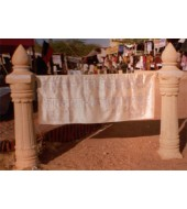 Decorative Carved Marble Columns
