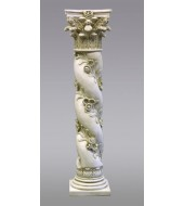 White Sandstone Antique Pillar