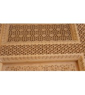 Simple Design Yellow Carving Sandstone
