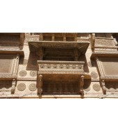 Sandstone Antique Jharokha Carving