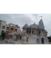 Big White Stone Mandir