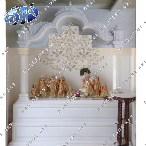 White Marble Traditional Temple
