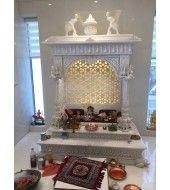 Australian White Marble Home Temple