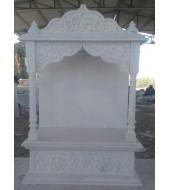 White Marble Designer Temple