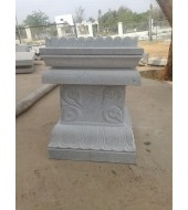 Grey Sandstone Simple Tulsikyara