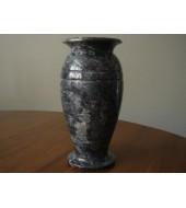 Decorative Polished Marble Plant Vase