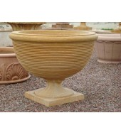 Decorative Sandstone Circular Flower Vase