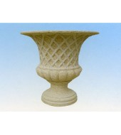 Decorative Sandstone Flower Vase