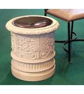 Hand Carved Sandstone Flower Vase