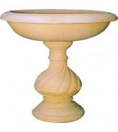 Large Sandstone Flower Vase