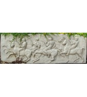 Ancient White Sandstone Wall Decoration