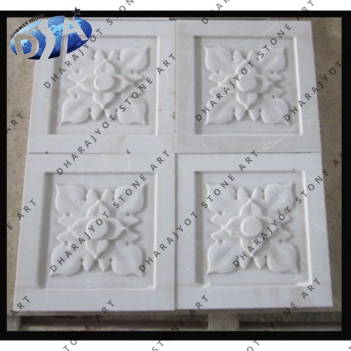 Abstract Marble Wall Decoration