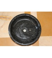 Black Round Washbasin
