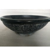 Black Granite Round Washbasin