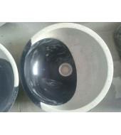 Black And White Marble Washbasin