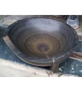 Black And Brown Sandstone Washbasin
