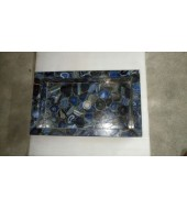 Blue Agate Rectangle Washbasin