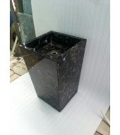 Black Agate Standing Washbasin