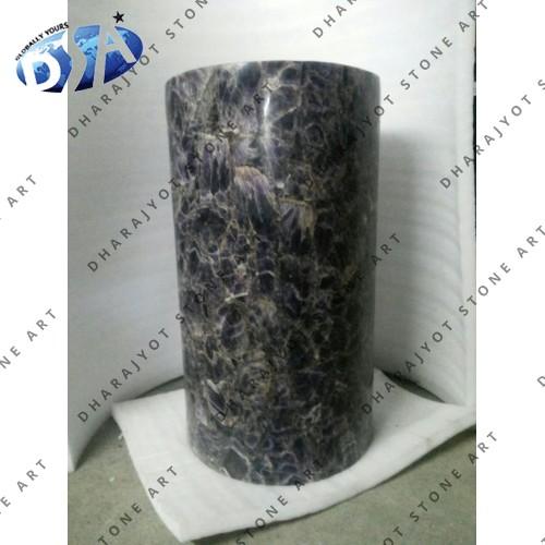 Amethyst Quartz Standing Washbasin