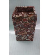 Red Agate Standing Wash Basin
