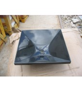 Antique Square Black Marble Washbasin