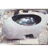 Antique Black Marble Washbasin