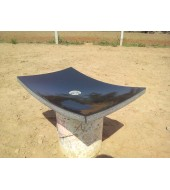 Black Marble Antique Washbasin