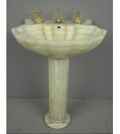 Quartz Sink with Standing Base