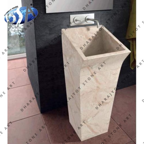 Marble Standing Washbasin Sink