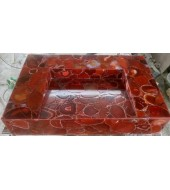 Brazil Red Agate Washbasin