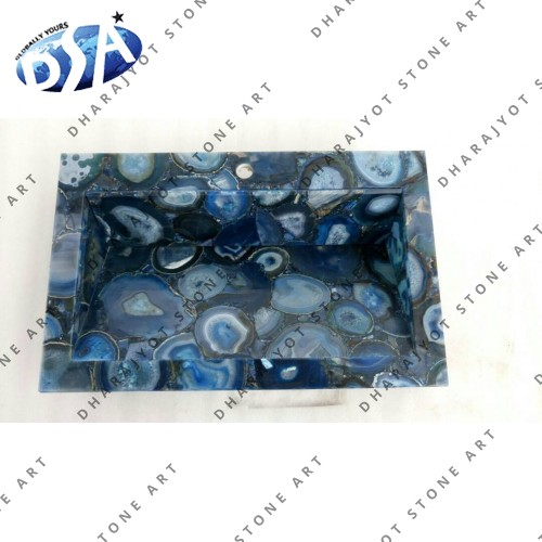 Blue Agate Gava Washbasin