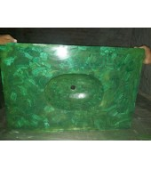 Malachite Pattern Quartz Washbasin