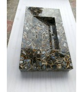 Natural Agate Quartz Washbasin