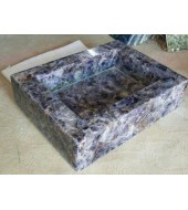 Amethyst Chips Quartz Washbasin