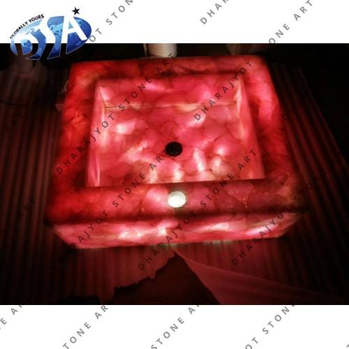 Rose Dark Quartz Washbasin