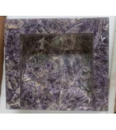 Indian Amethyst Quartz Washbasin