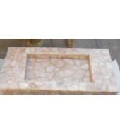 Rose Light Quartz Washbasin