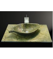 Antique Bidaser Marble Cabinets Washbasin