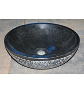 Antique Black Granite Stone Cabinets Washbasin