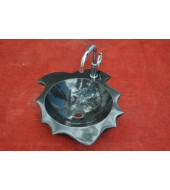 Antique Decorative Granite Stone Cabinets Washbasin