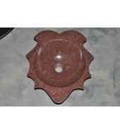 Antique Red Granite Washbasin Sink