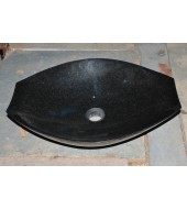 Black Granite Stone Basins