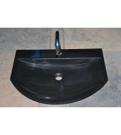 Black Granite Stone Bathroom Sink