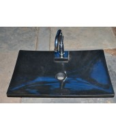 Black Granite Stone Kitchen Sink