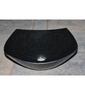 Black Granite Stone Wash Basin
